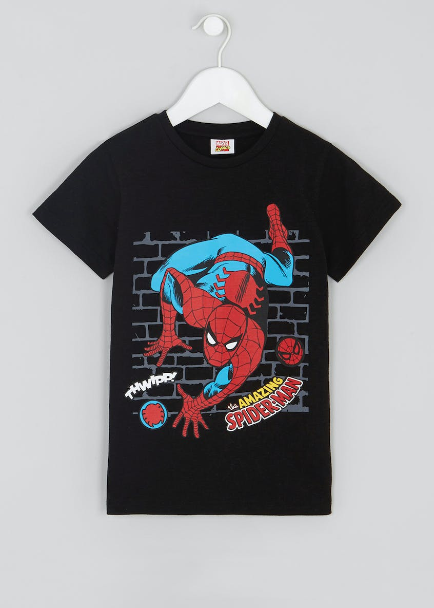 Kids Spider-Man T-Shirt (12mths-7yrs)