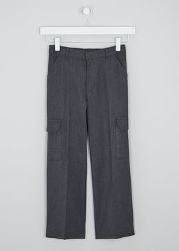 Boys Cargo School Trousers (3-13yrs)