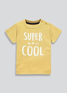 Unisex Super Cool Slogan T-Shirt (Tiny Baby-18mths)