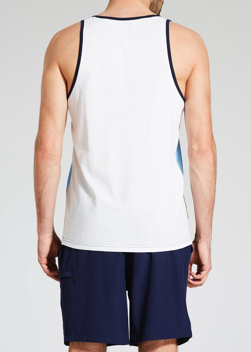 LA Palm Graphic Vest
