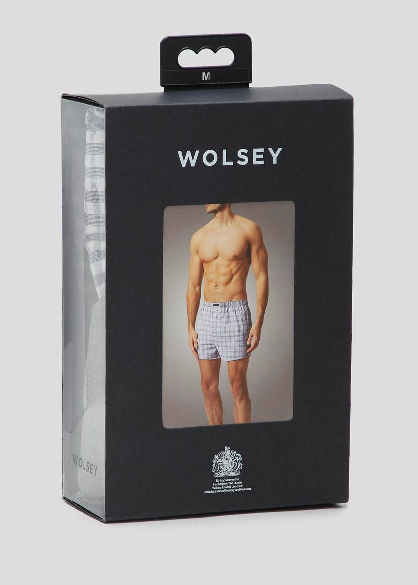 2 Pack Wolsey Woven Boxers