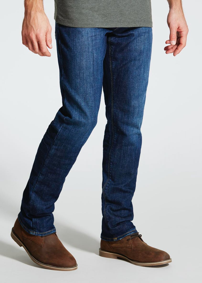 Armani Jeans Slim Fit Stone Wash Jeans