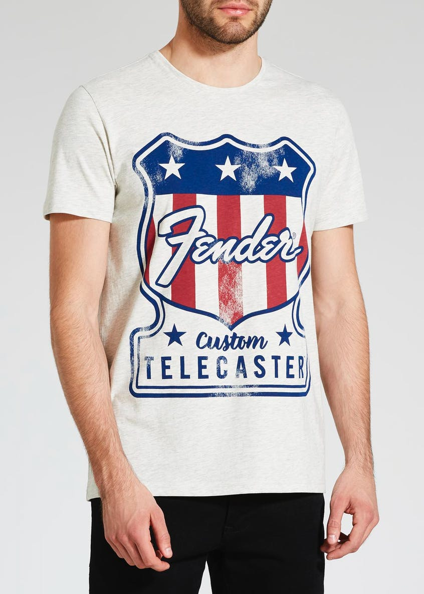 Fender Graphic Print T-Shirt