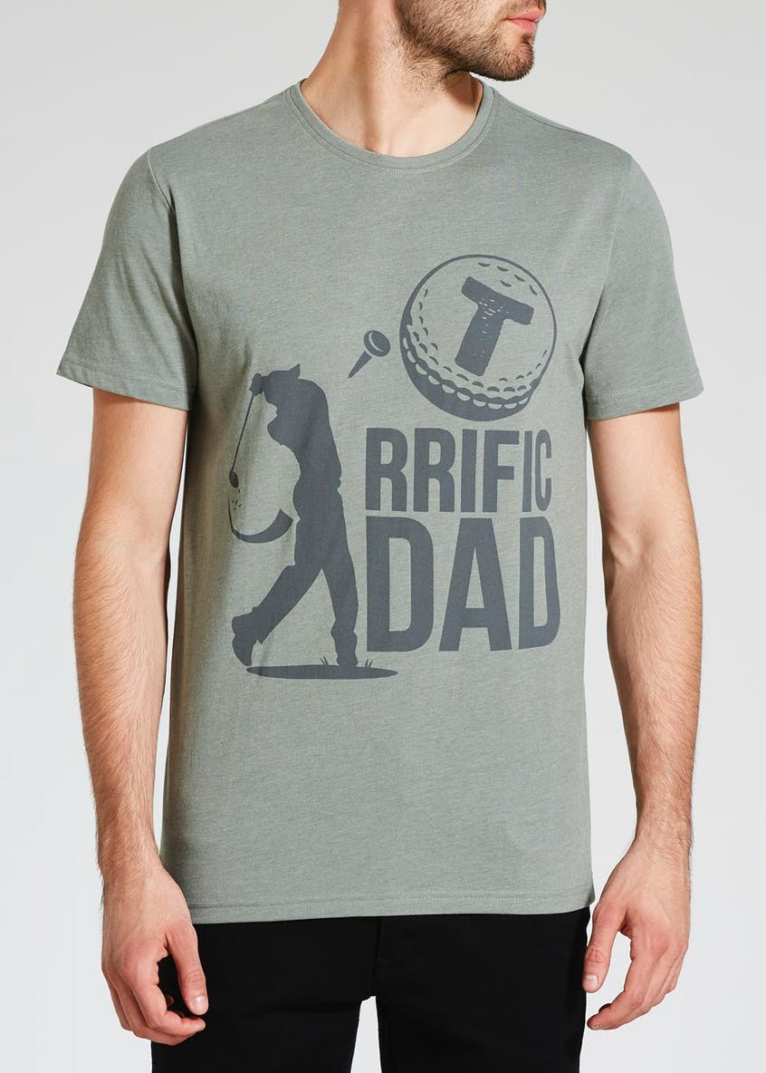 Tee-Rrific Dad Slogan T-Shirt