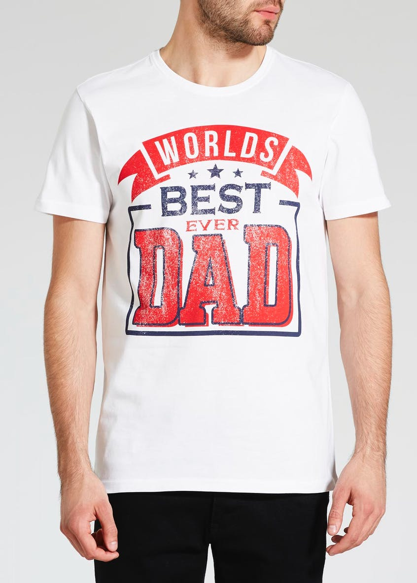 World's Best Dad Slogan T-Shirt