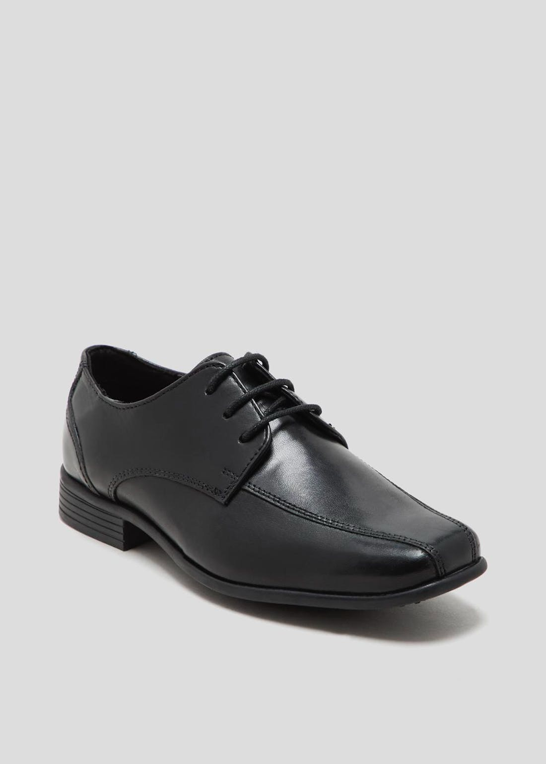 Boys Real Leather Formal Shoes (Younger 8-Older 6)
