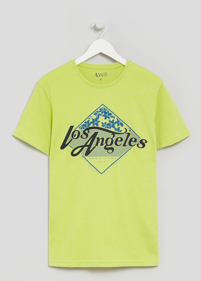 Los Angeles Graphic Print T-Shirt