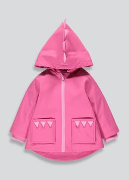 Girls 3D Dinosaur Rain Mac (6mths-6yrs)