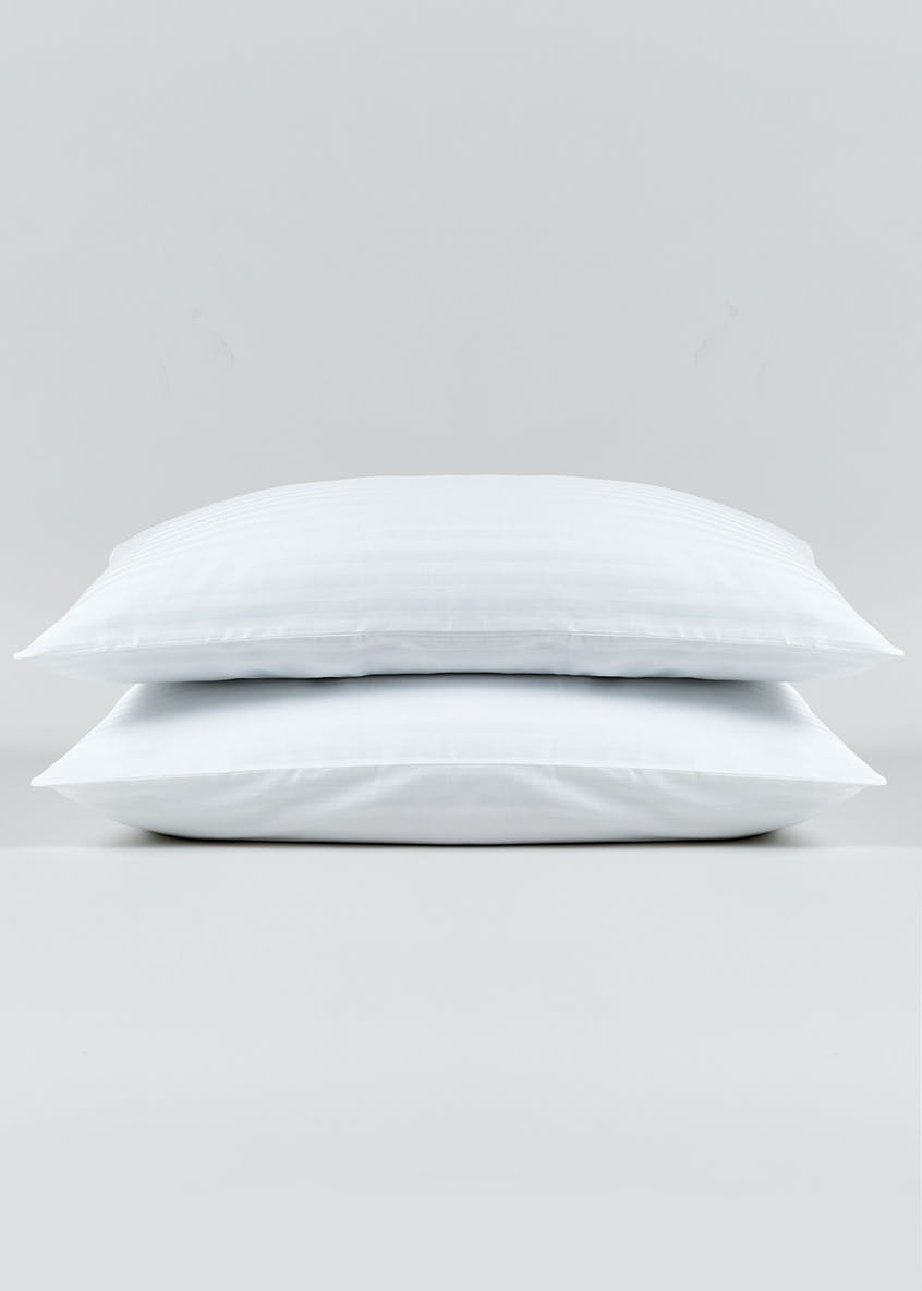 100% Cotton Housewife Pillowcases (180 Thread Count)