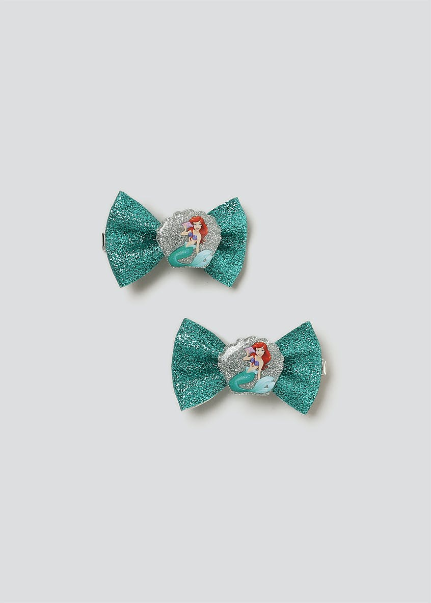 Disney Arial Bow Hair Clips