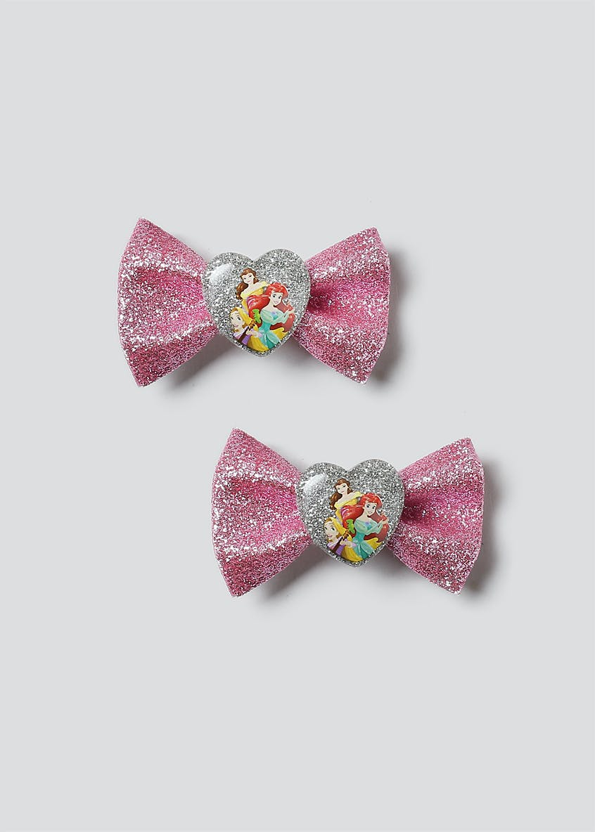 Disney Princess Bow Hair Clips