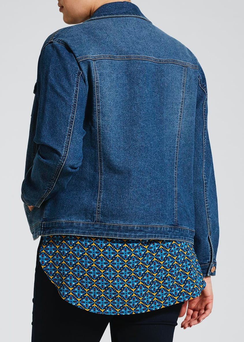 Papaya Curve Denim Jacket