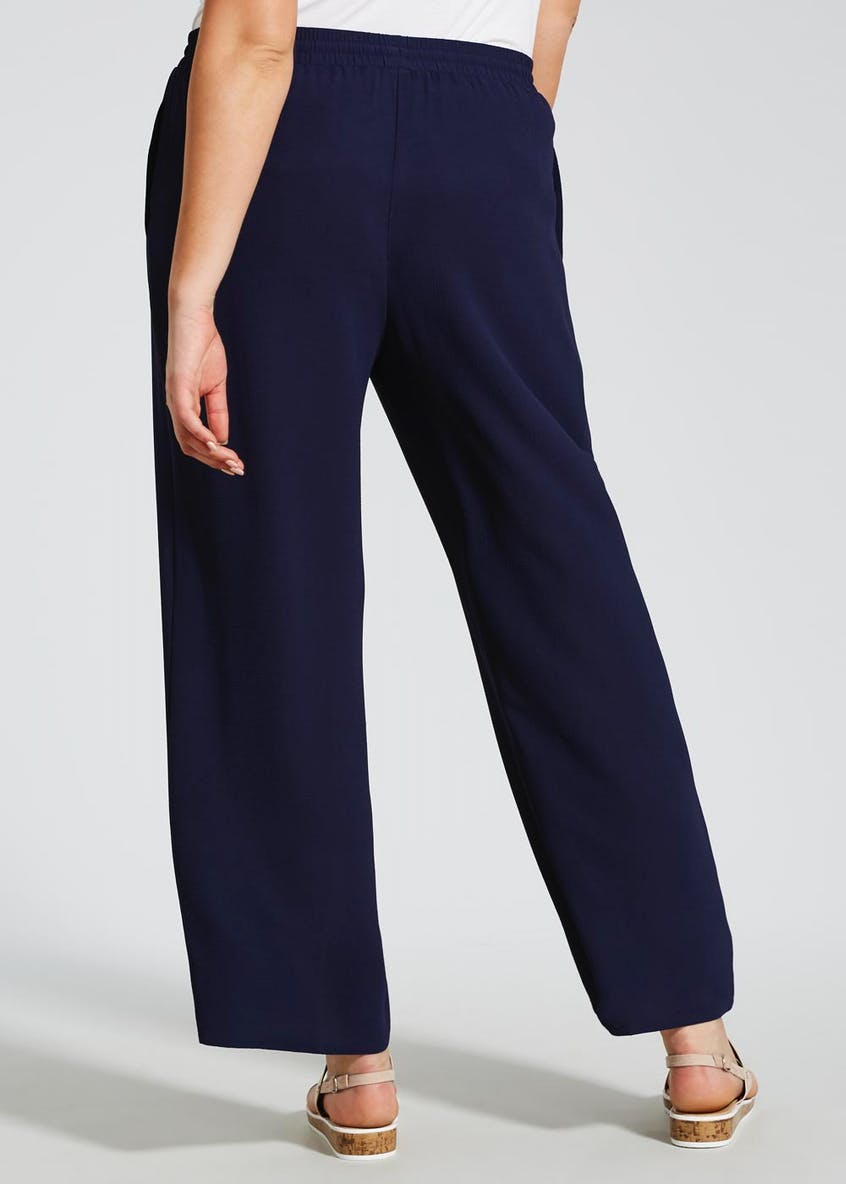 Papaya Curve Wide Leg Trousers