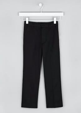 Boys Slim Fit School Trousers (4-16yrs)