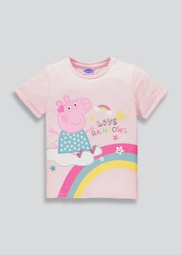 Kids Peppa Pig T-Shirt (9mths-5yrs)