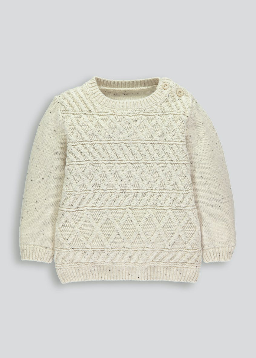 Boys Cable Knit Jumper (3mths-6yrs)