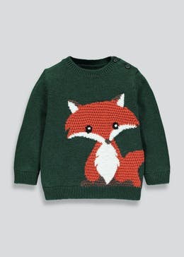 Kids Fox Jumper (3mths-6yrs)
