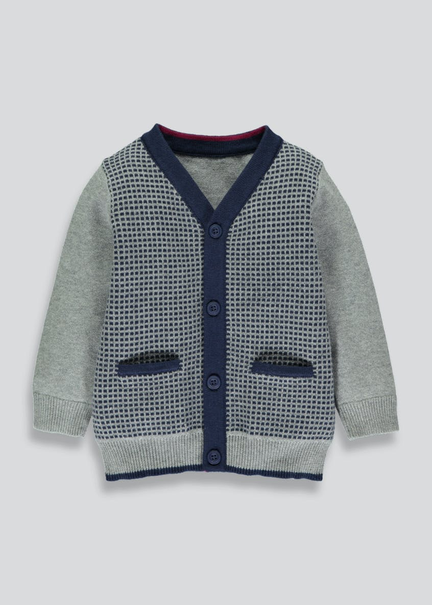 Boys Smart Cardigan (3mths-6yrs)