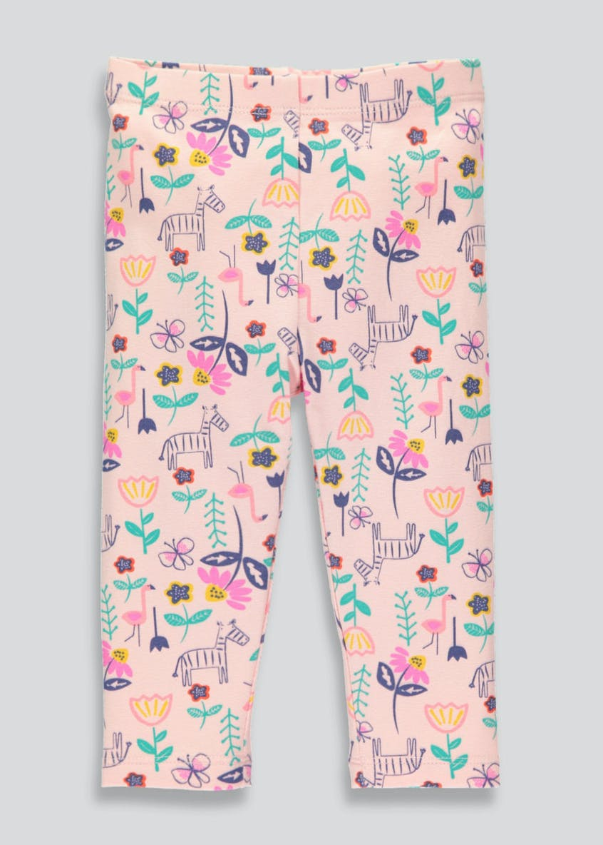 Girls Animal & Floral Leggings (3mths-6yrs)