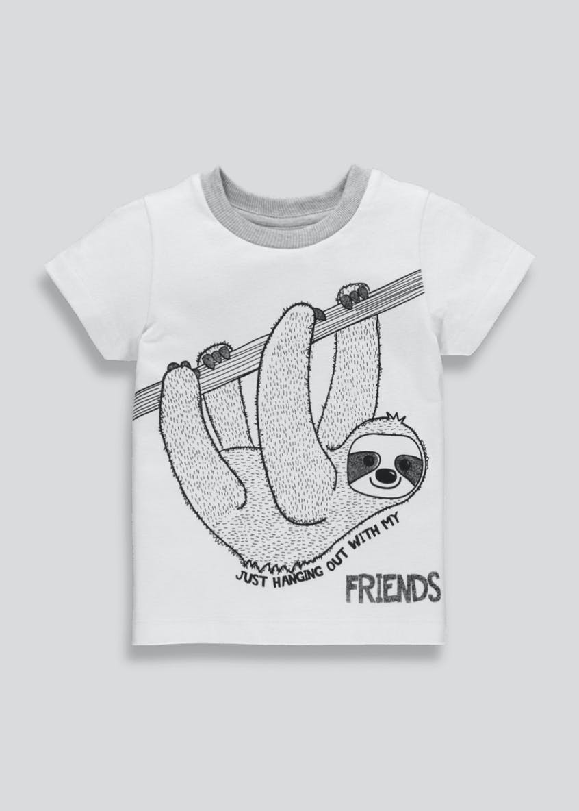 Kids Sloth T-Shirt (3mths-6yrs)