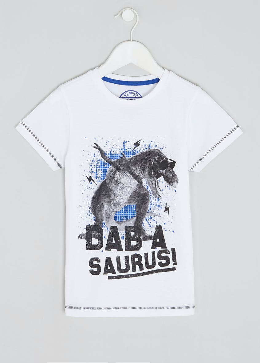 Boys Dab-a saurus T-Shirt (4-13yrs)