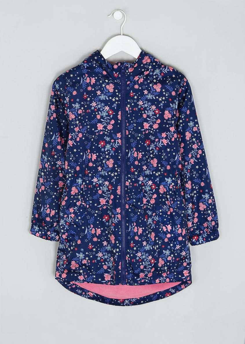Girls Candy Couture Floral Rain Mac (9-16yrs)