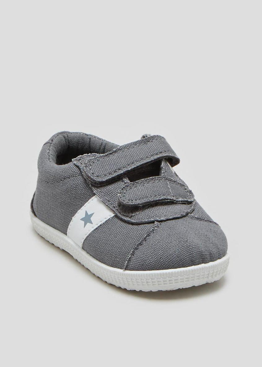 Boys Soft Sole Pre-Walker Baby Trainers (Newborn-18mths)