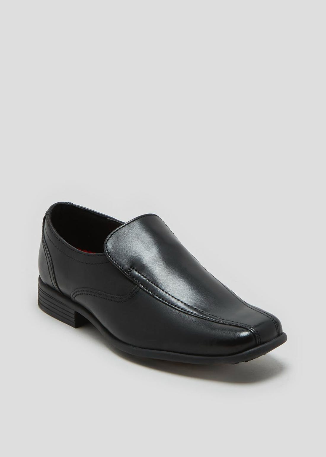 Boys Real Leather Slip On Shoes (Younger 8-Older 6)