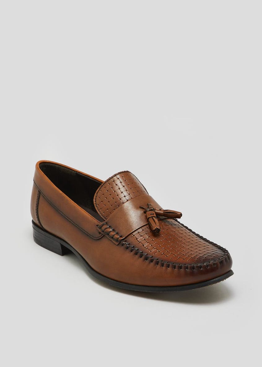 Edition Real Leather Tassel Loafers