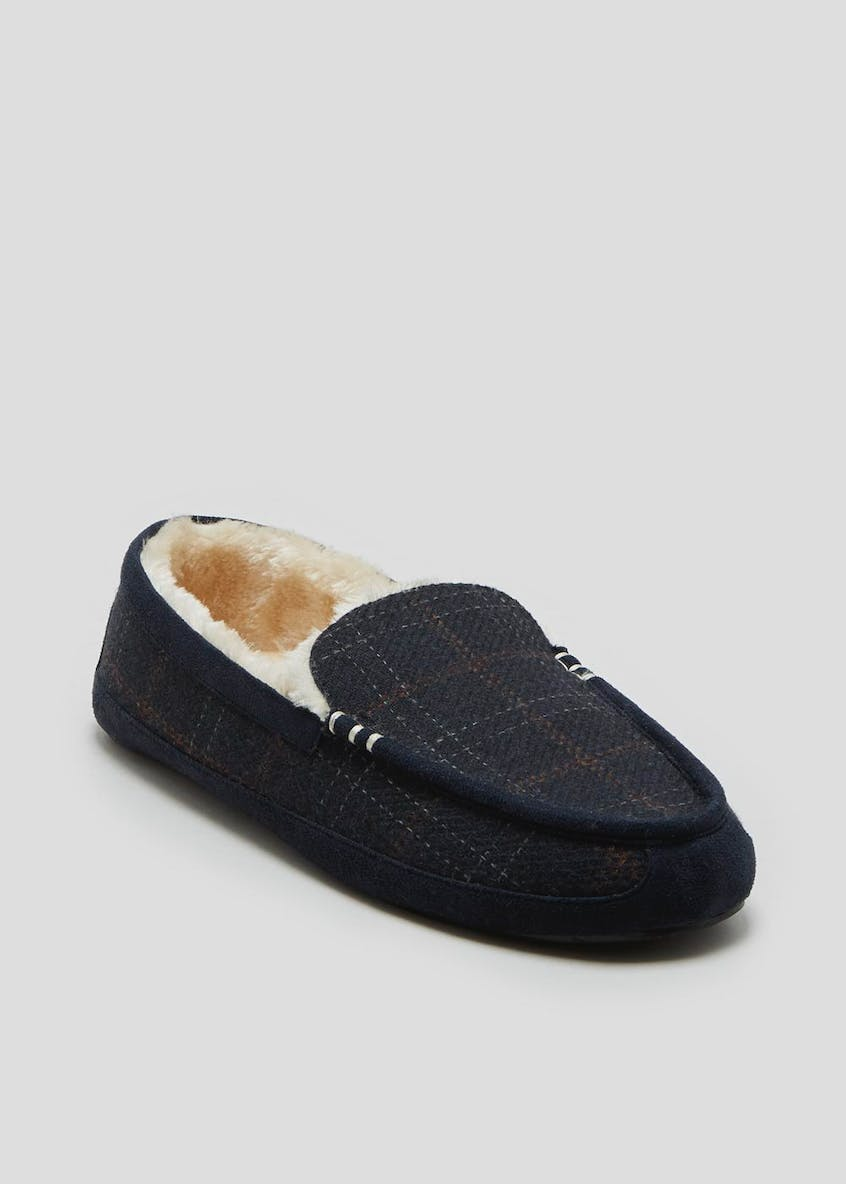 Moccasin Slippers in Gift Box