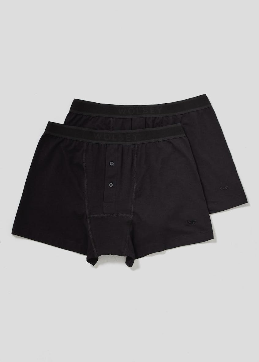 Wolsey 2 Pack Button Front Boxers