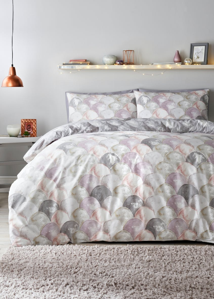100% Cotton Watercolour Print Duvet Cover (200 Thread Count)