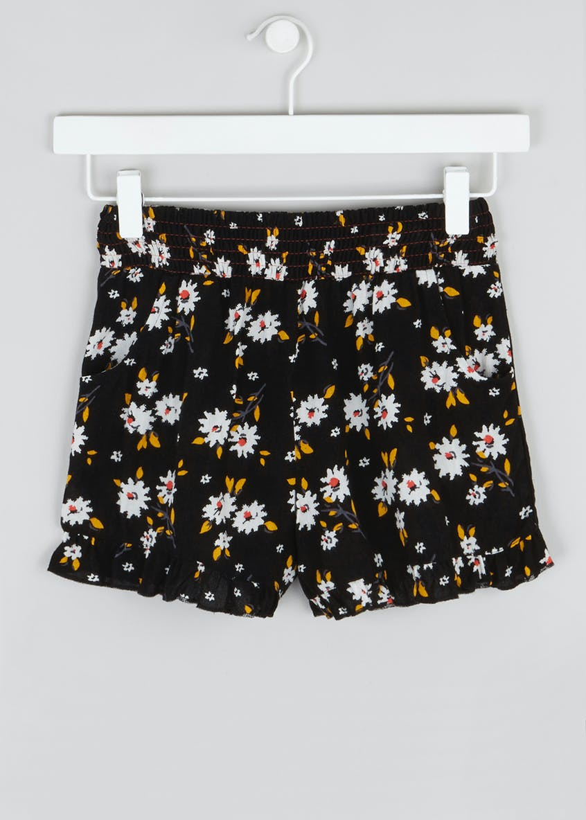 Girls Candy Couture Floral Shorts (9-16yrs)