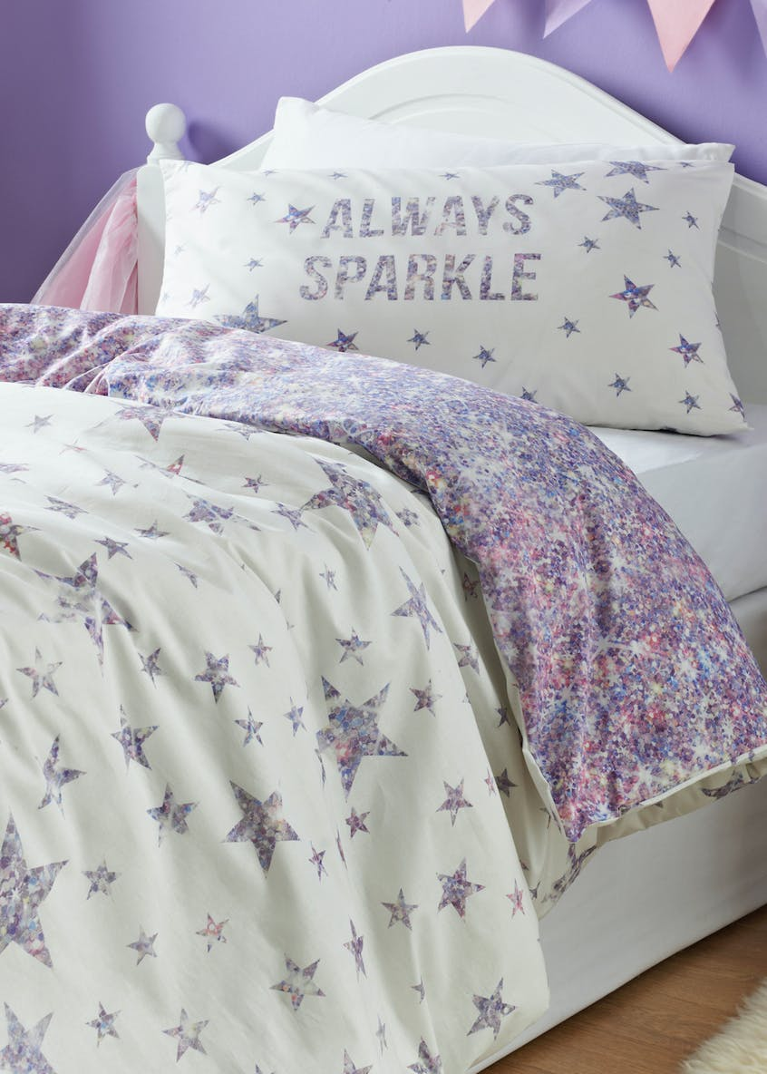 100% Cotton Digital Print Star Duvet Cover (Single)