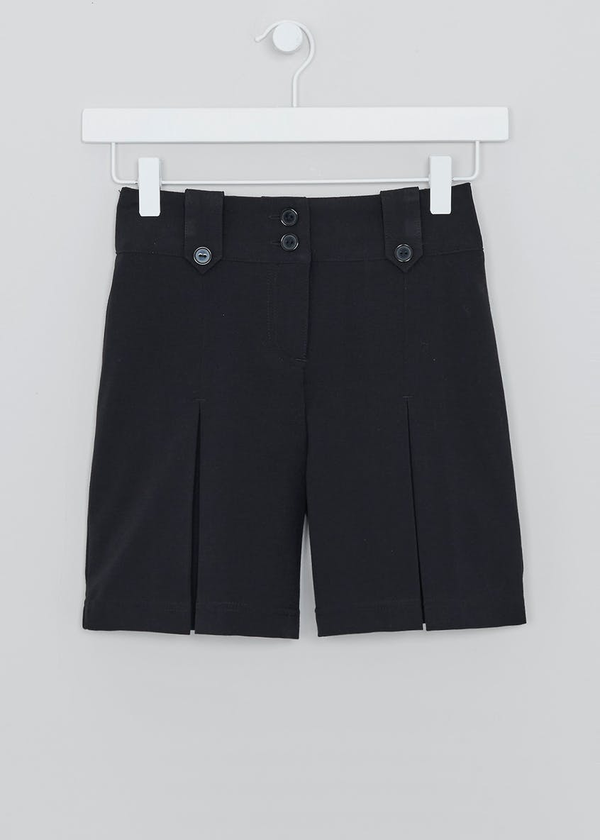 Girls Pleated School Culottes (3-13yrs)