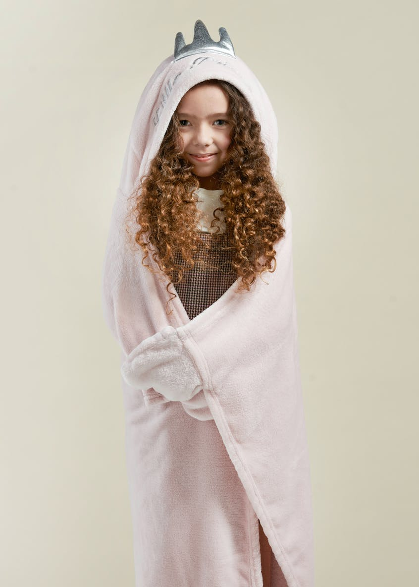 Princess Hooded Throw (One Size)