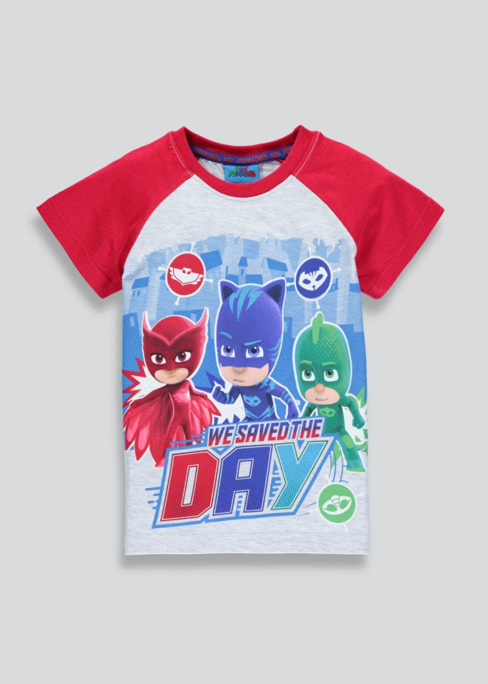 82f68db2 Kids PJ Masks T-Shirt (12mths-7yrs) – Red – Matalan