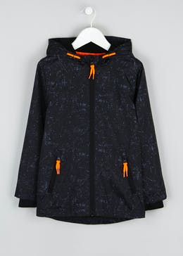 Boys Paint Splatter Hooded Jacket (4-13yrs)