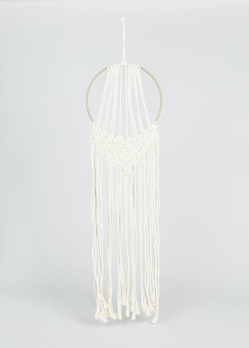 Macramé  Dream Catcher (69cm x 24cm x 24cm)