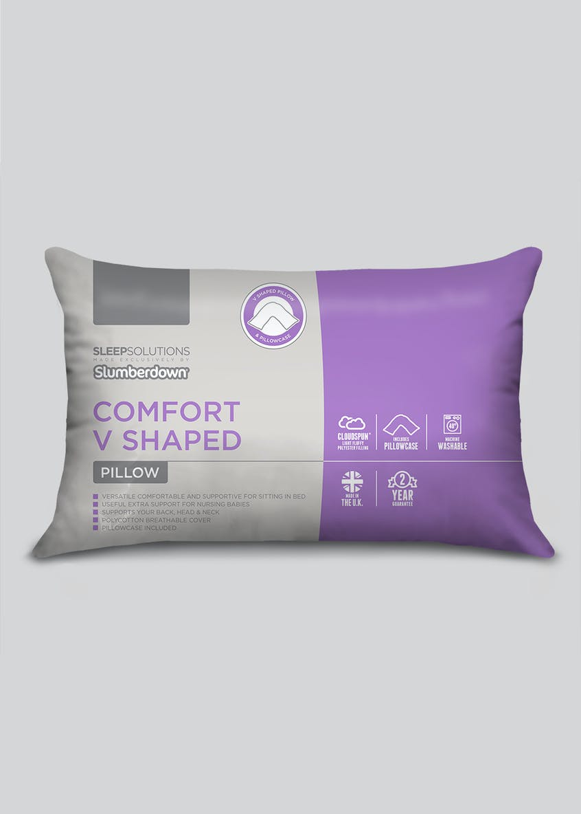 Slumberdown V Shaped Comfort Pillow