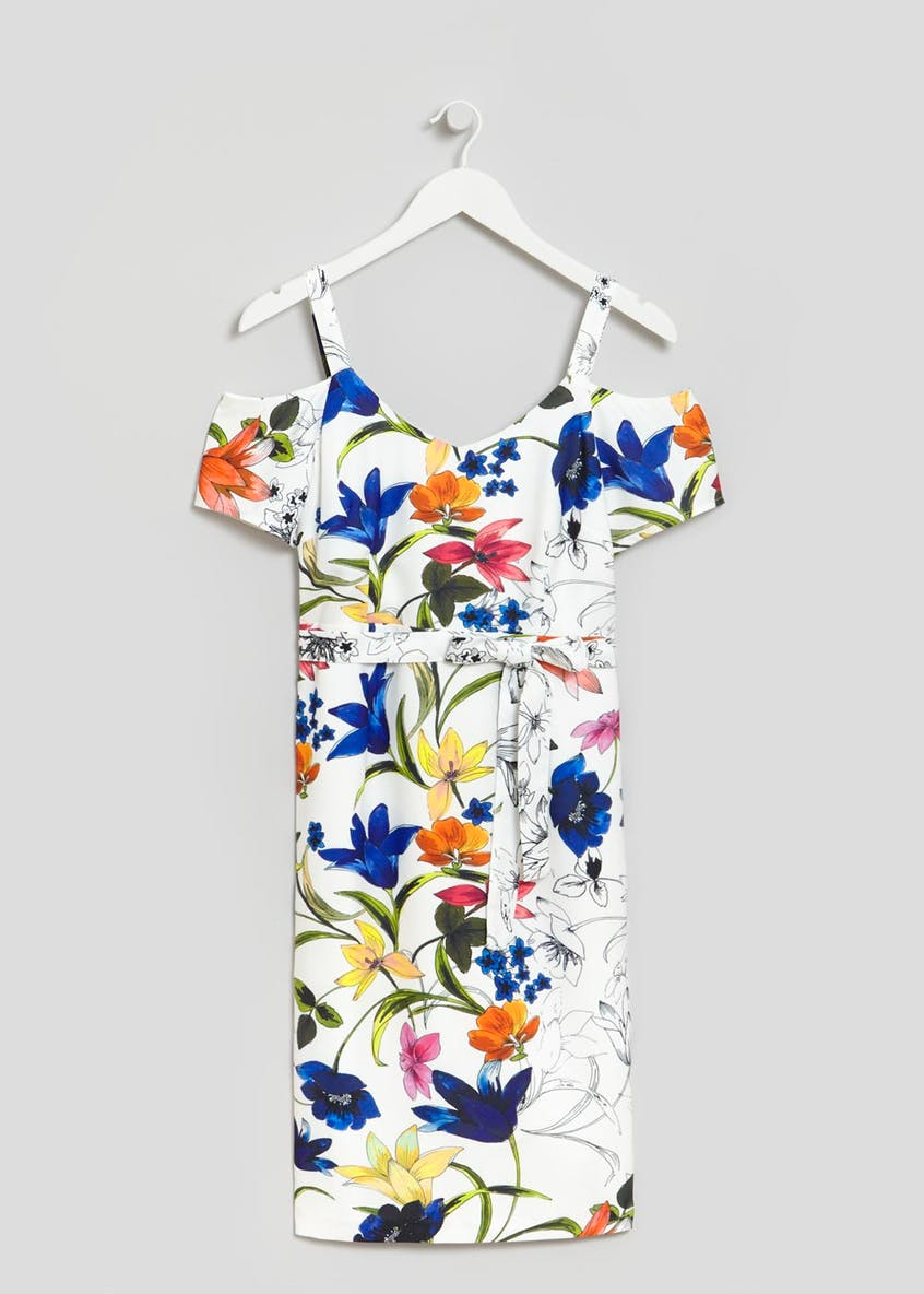 Soon Premium St Lucia Floral Shift Dress