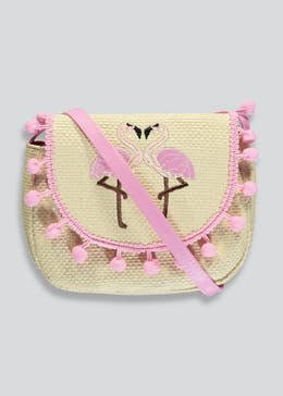 Girls Flamingo Cross Body Bag