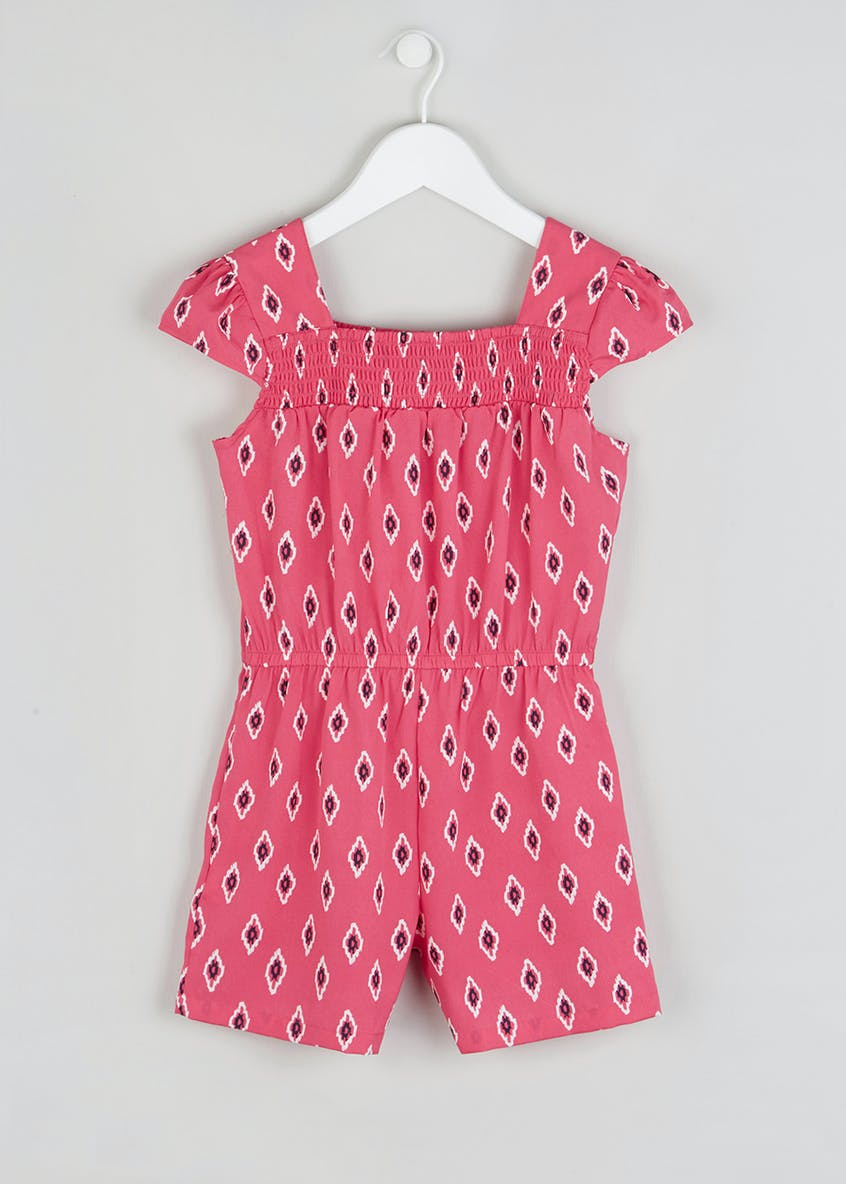 Girls Printed Playsuit (4-13yrs)