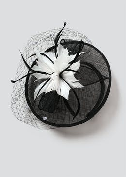 Flower Net Fascinator