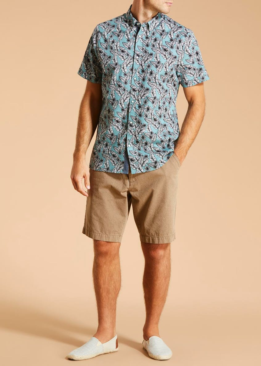 Morley Short Sleeve Floral Shirt