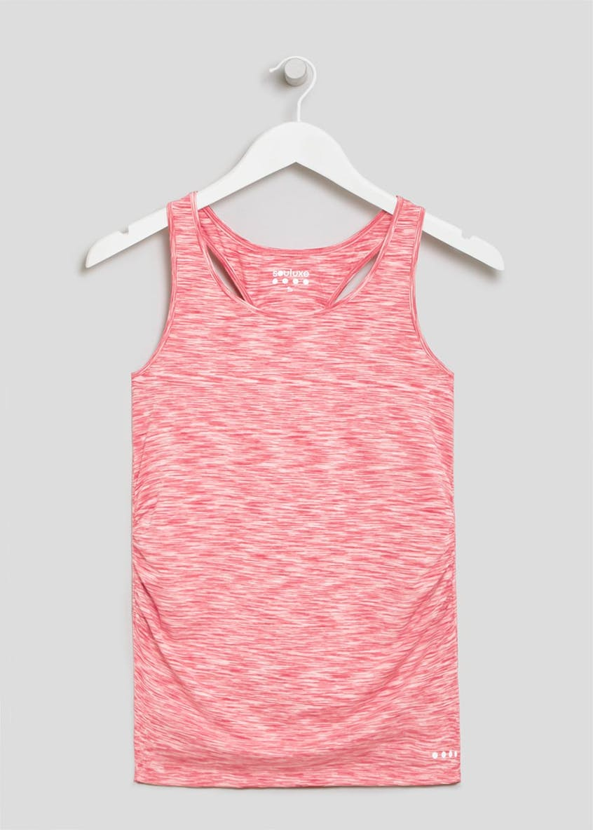 Souluxe Space Dye Racer Back Sports Vest