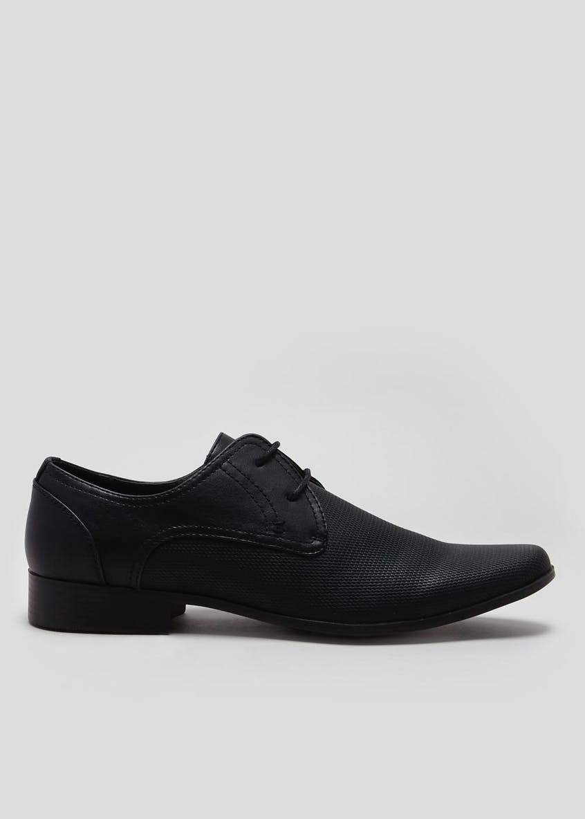 Embossed Formal Lace Up Shoes
