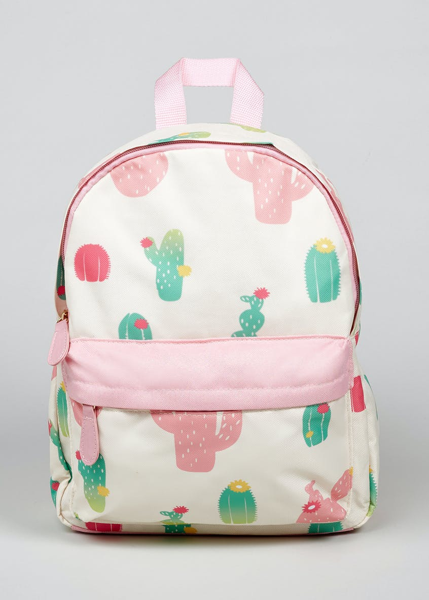 Girls Cactus Backpack (One Size)