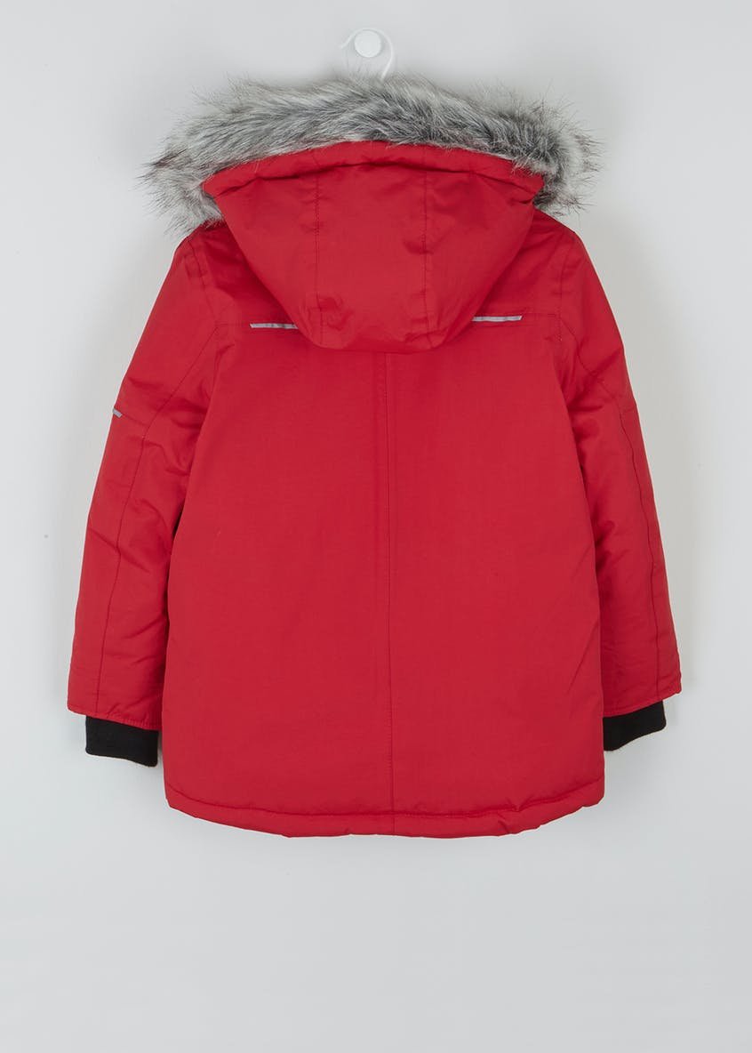 Boys Technical Parka Jacket (4-13yrs)
