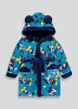 Kids Disney Mickey Mouse Dressing Gown (6mths-5yrs)